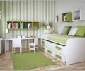 Tiết kiệm không gian: ý tưởng cho phòng trẻ